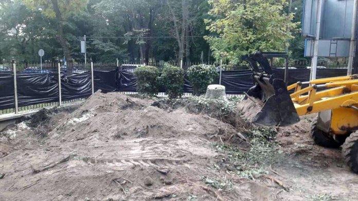 Роботи зі встановлення пам'ятника героям ЗУНР у Львові