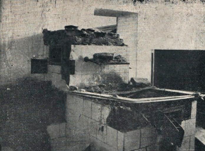 Зруйнована кухня Академічного Дому, листопад 1928р.
