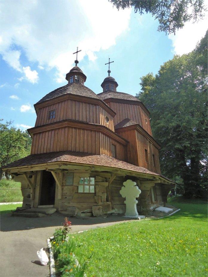 Церква в Черепині до ремонту в 2018 році. Фото, надане церковною громадою.