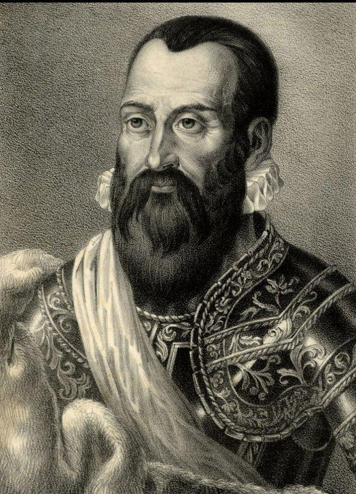Миколай Радзивілл Чорний. Зображення з Вікіпедії