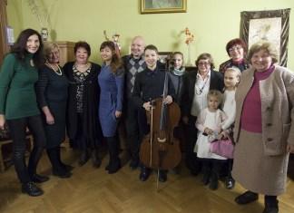 Учасники благодійного концерту-акції з нагоди відновлення фортепіано родини Грушевських