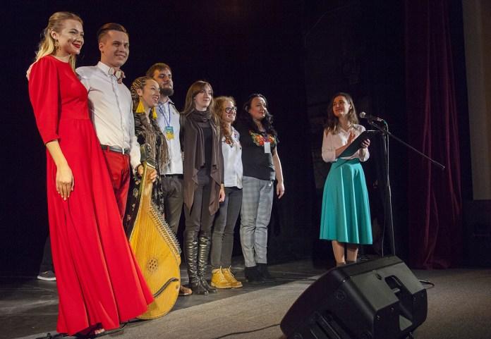Учасники концерту-презентації авторських нотних збірок для бандури