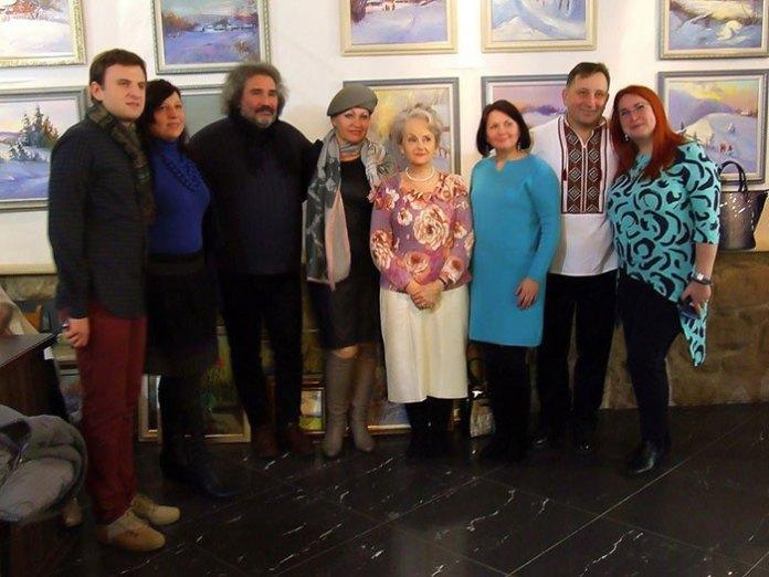 Відкриття виставки Богдана Кузіва