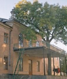 Палац Грохольських в містечку Гриців. Сучасне фото