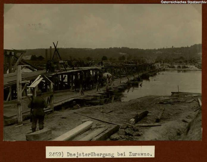 Журавно часів Першої світової війни