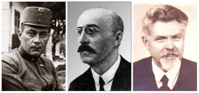 М. Галущинський, І. Брик, В. Сімович