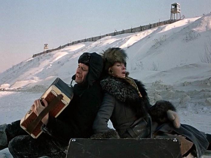 Кадр із фільму «Вокзал для двох», 1982