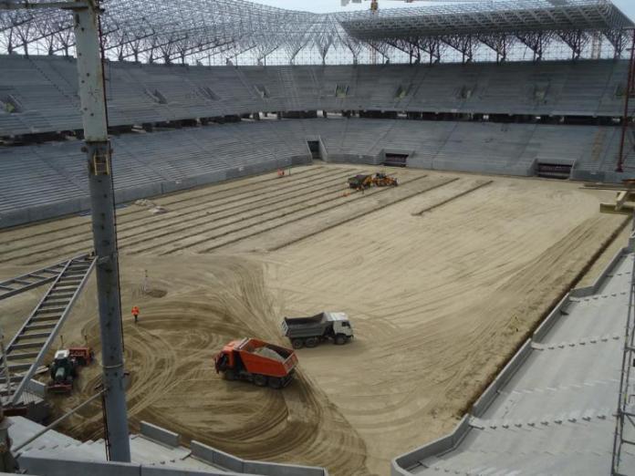 Будівництво стадіону «Арена Львів»