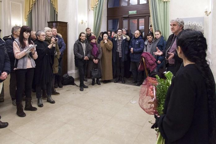 Відкриття виставки живопису Людмили Давиденко