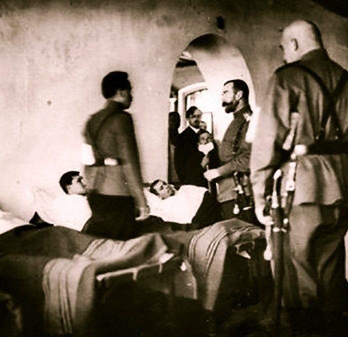 Микола ІІ в Рівненському військовому госпіталі, 1915 рік