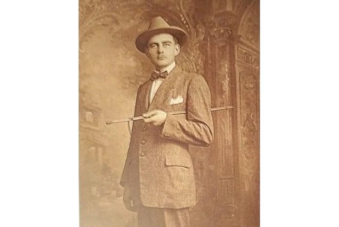 Цезаре Розаліні. Зображення з книги Станіслава Нічеї Kresowa Atlantyda