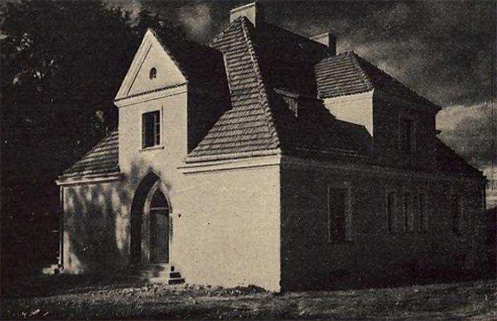 Будинок на чотири родини. Фото міжвоєнного періоду