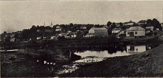 Панорама Клевані. Фото міжвоєнного періоду
