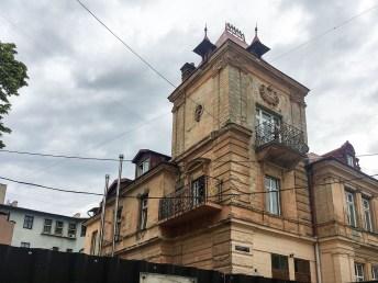 Львів, будинок на розі вулиць Матейка та Технічної
