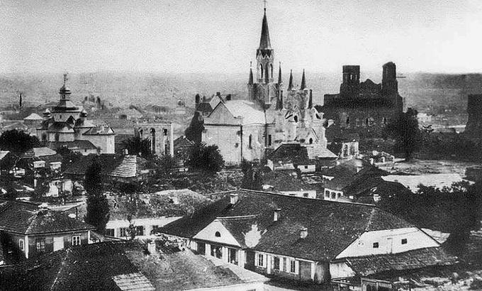 Волинський острог. Фото кінця ХІХ року