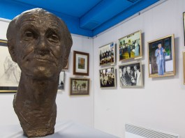 Експозиція виставки присвяченої 93-річчю від дня народження Бориса Возницького