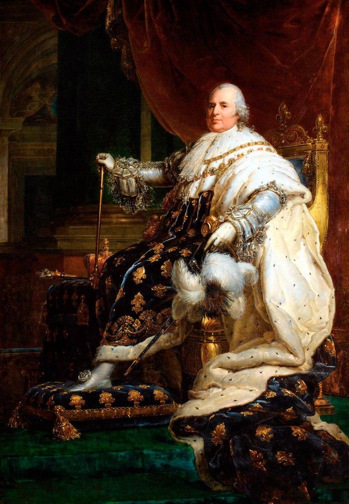 Людовик XVIII, автор Франсуа Жерар, XIX ст