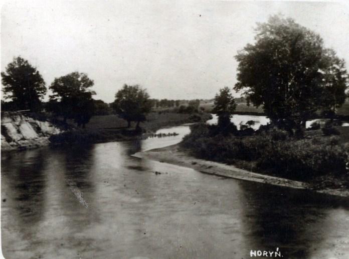 Річка Горинь, Волинське воєводство, 1937 р.