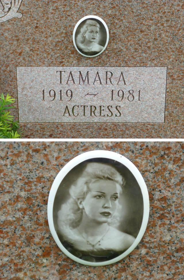 Тамара Вишневська. Актриса