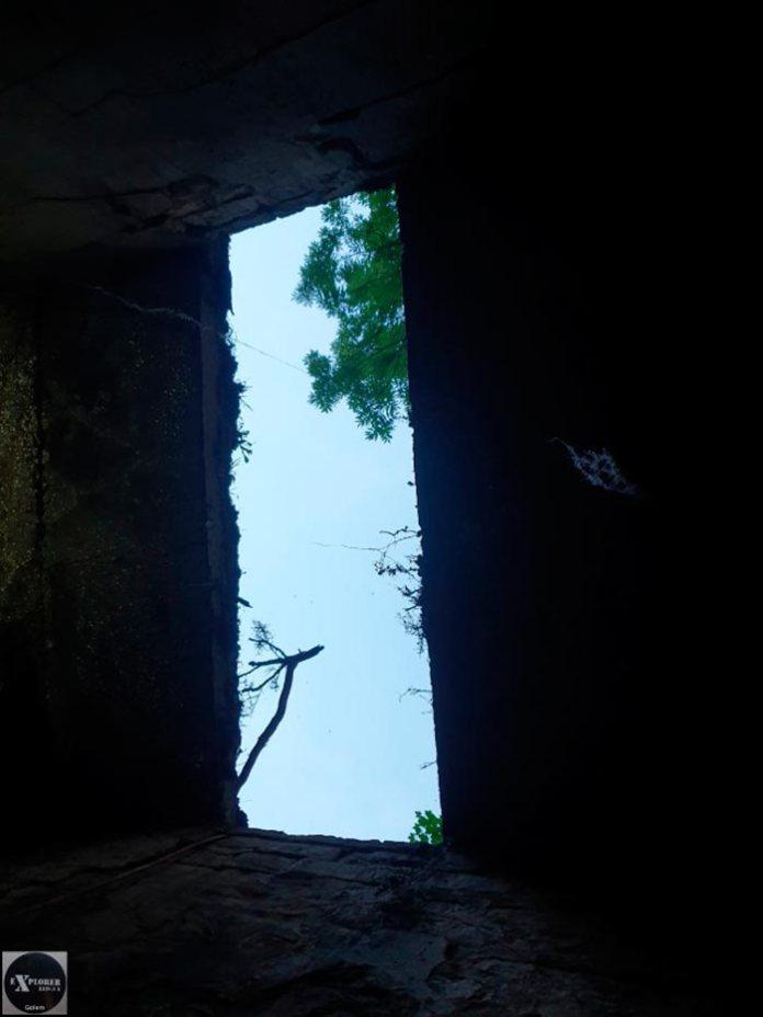 Вхід у бомбосховище у Львові на Підвальній. Фото Андрія Риштуна