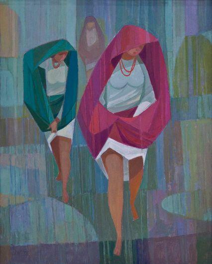 Мирон Левицький. Несподіваний дощ, 1988 рік