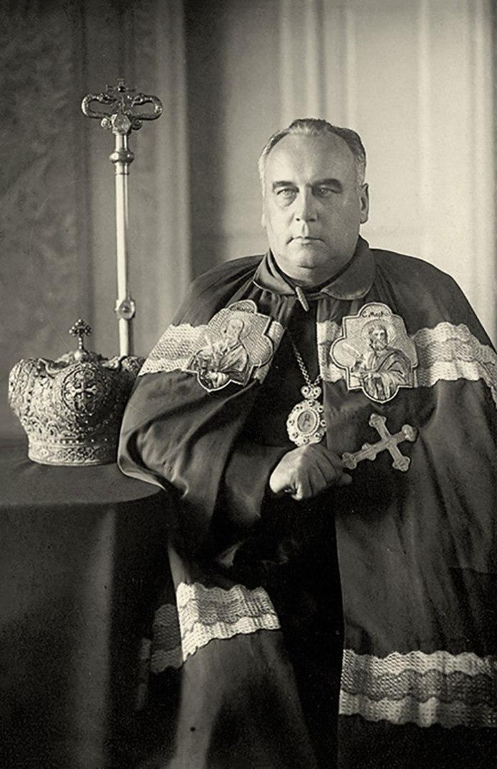 Один із лідерів, які у 1946 році розкололи УГКЦ т.зв. єпископ Михайло Мельник