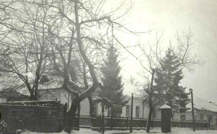 Та ж єврейська лікарня, фото поч. 1930-х років