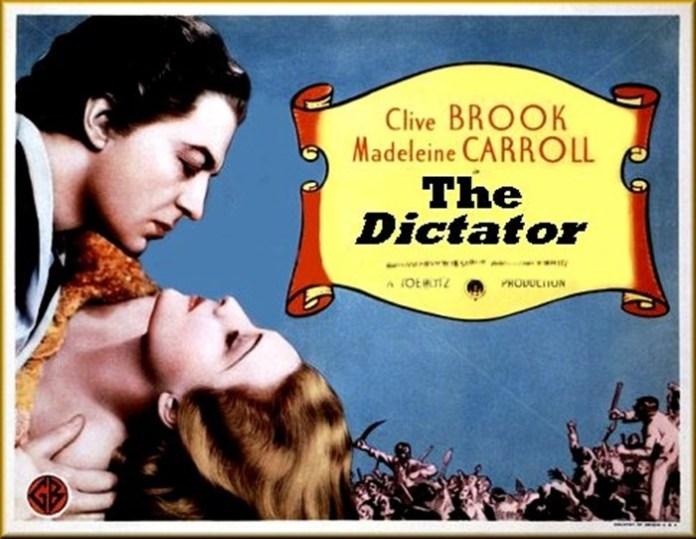 """Афіша фільму """"Диктатор"""", 1935 р."""