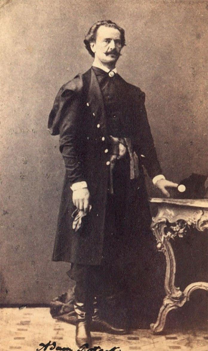 Чоловік граф Адам Потоцький, 1863