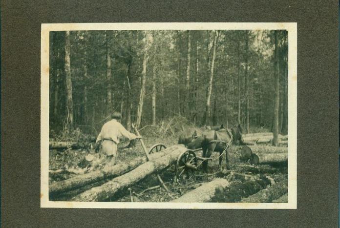 Село Листвин на Дубенщині (сучасна Рівненська область), початок ХХ століття. Фото Чезаріни Гуаліно
