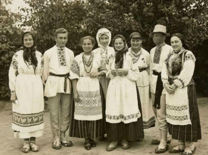 Мешканці Полісся. 1920-і роки