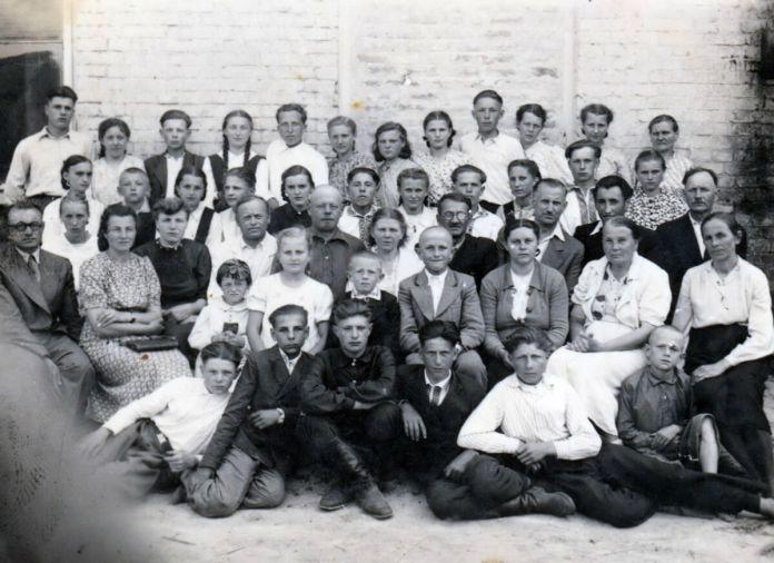 Випускники Городоцької школи, 1948 р.