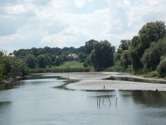Річка Устя біля острова, 2018 рік