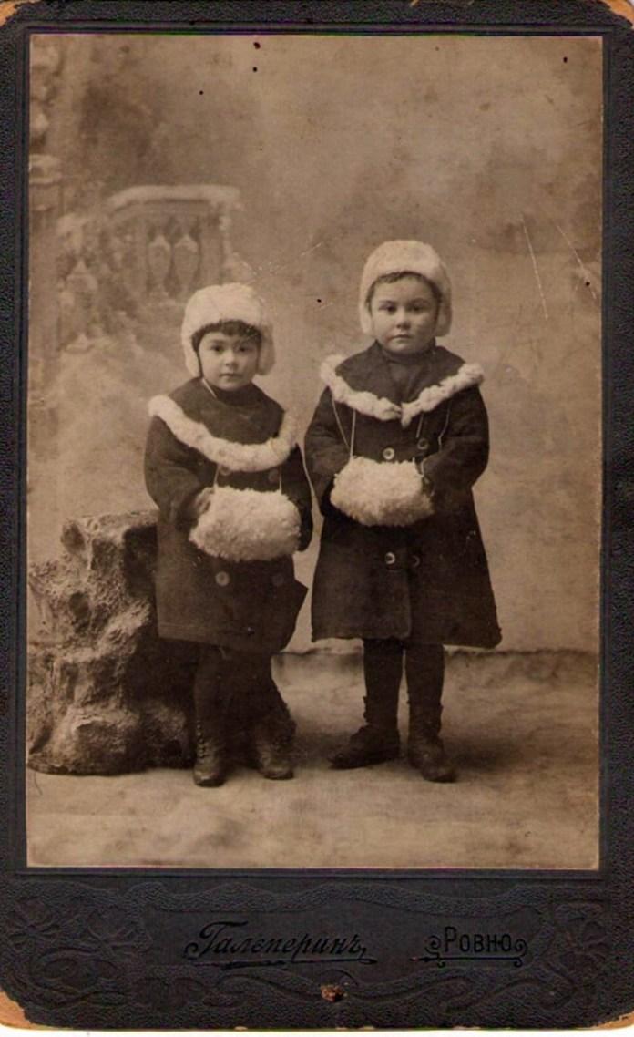 Дитяче фото. Салон Гальперіна, початок ХХ століття
