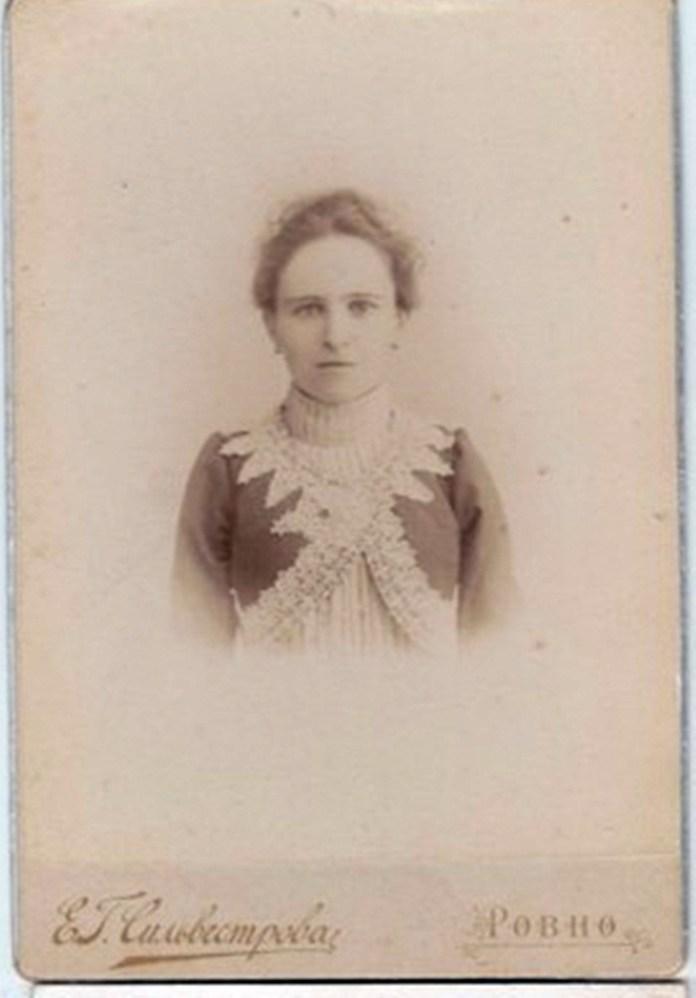 Салон Сильвестрової. Фото датоване 1885-м роком
