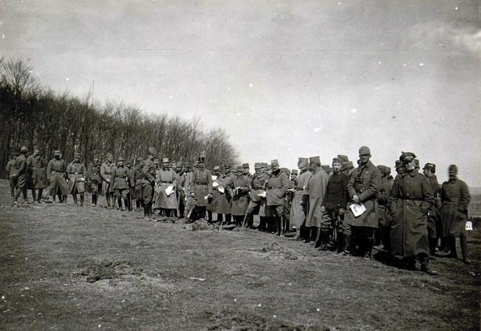 Село Ушковичі  Львівська обл., 1917 р.
