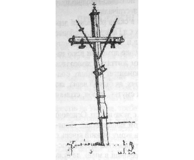 Придорожній хрест на Волині