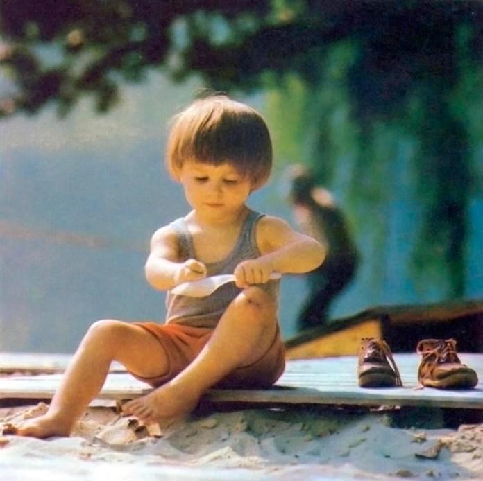 Маленький львів'янин. Фото 1980-их років