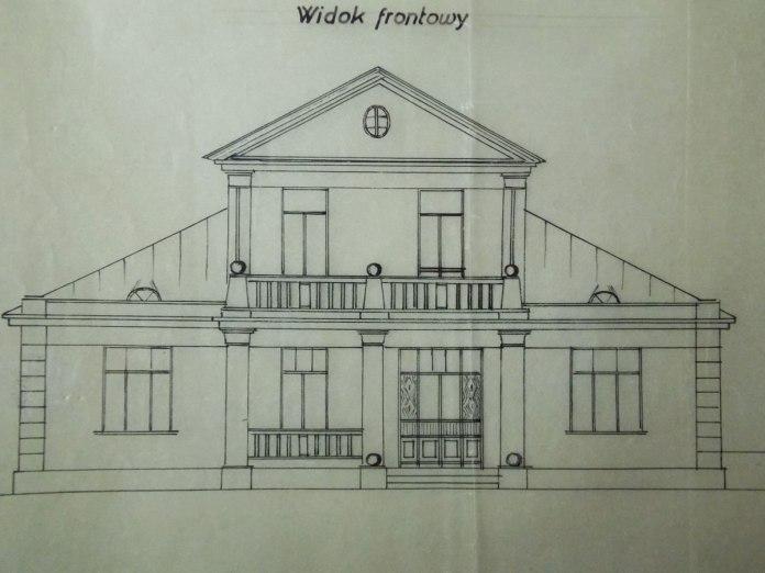 Ескіз фасаду будинку