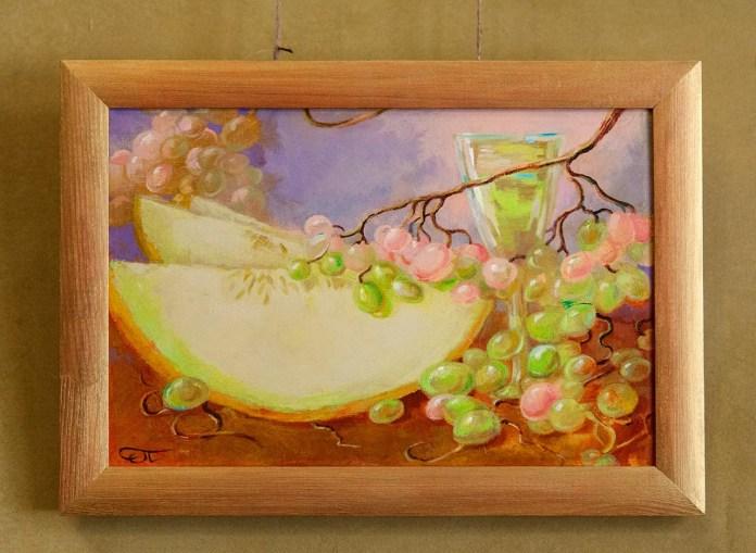 """Експозиція виставки живопису Ольги Падовської """"У настрої Літа!"""""""