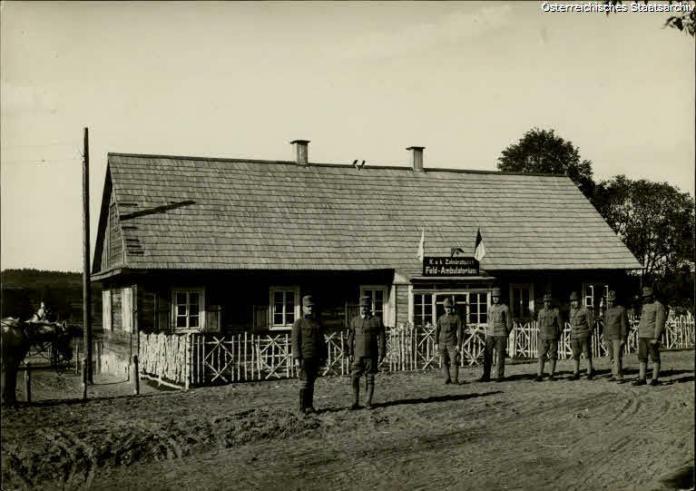 Приміщення стоматологічного кабінету, Галичина, 1917 р.