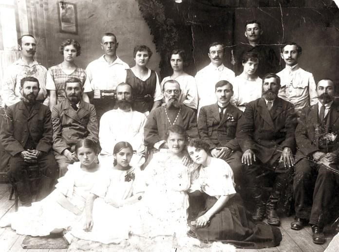 Священики і церковні хористи, Дубно, 1920-і рр.