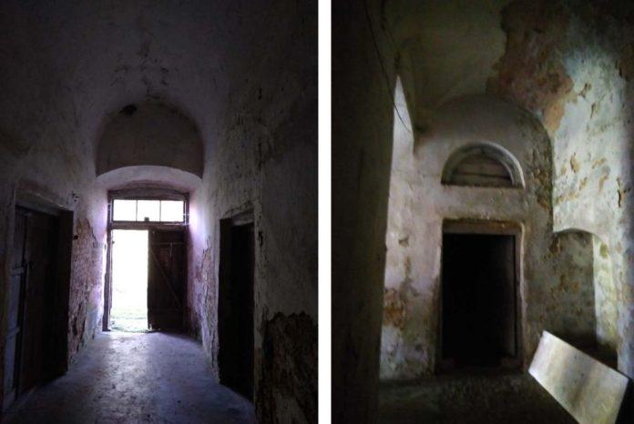 Підвали колишньої офіцини зберігають давній вигляд