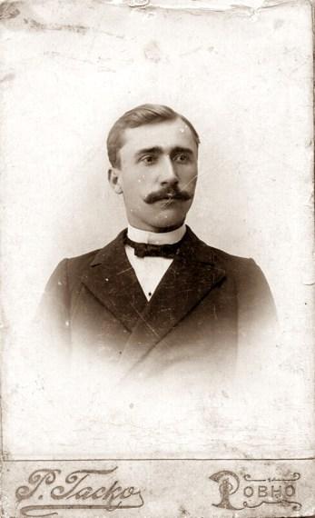 Серафим Молчановський, Рівне, 1900