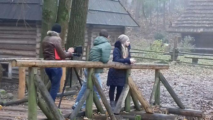 Зйомки кіножурналу «Байки» Фото: Оксана Аністратенко