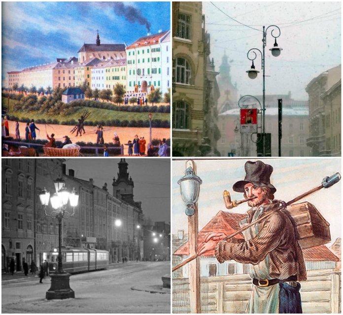 Львівські ліхтарники, або люди з драбинкою