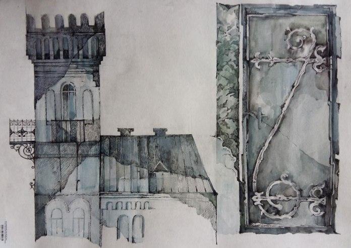 """""""Місто і сад"""" Дарії Зав'ялової, або виставка графіки, текстилю та вишивки"""