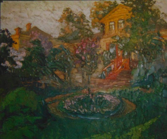 Малюнок Георгія Косміаді