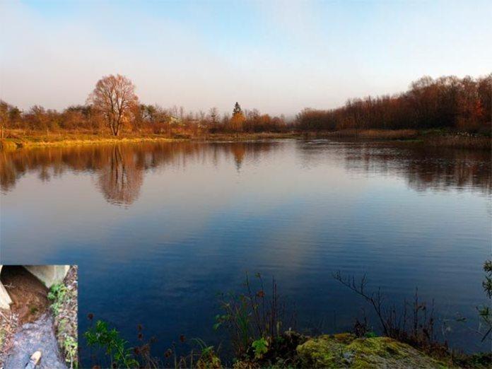 Озеро в с. Хоросно