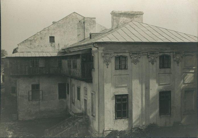 Замок у Бродах, 1910 р.
